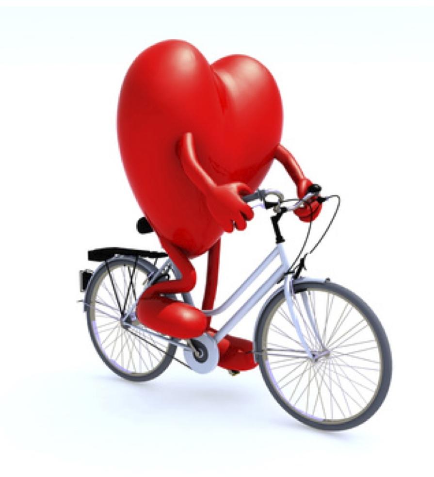coeur vélo